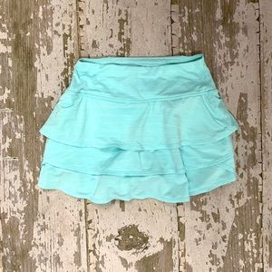 Athleta XXS Aqua tennis skirt